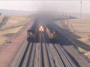 3 Coal Trains Coming And Going!