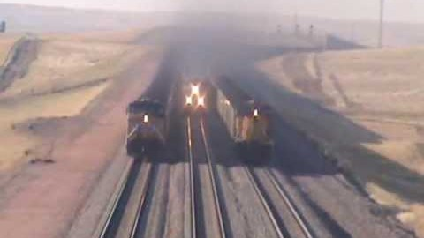 Coal Trains On The Move | Train Fanatics Videos