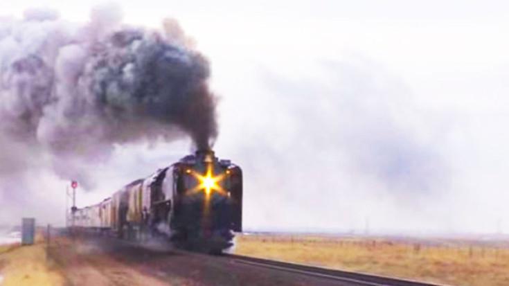 Union Pacific 844 Barrels To California! | Train Fanatics Videos