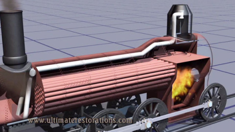 Incredible Display Of How A Steam Engine Works! | Train Fanatics Videos