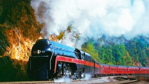 """J – 611"" 4-8-4 Most Powerful Steamer Ever Built! 