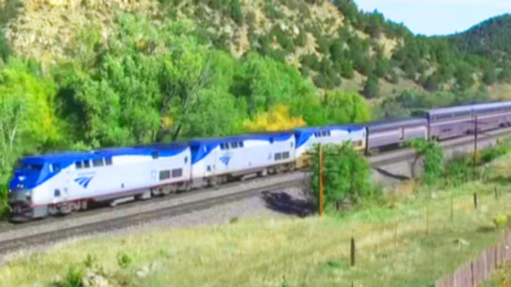 The Classic Southwest Chief Takes On The Santa Fe Trail! | Train Fanatics Videos