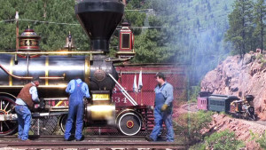 Steam In Colorado, The Durango & Silverton RailRoad!
