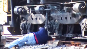 How To Get Your 398,000 Pound Locomotive Back On The Track!