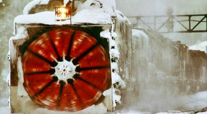 "The Rotary Snow Plow  AKA ""The War Wagon""!"
