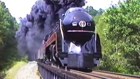 Final Excursion Of the J-611 On The Peavine Line! | Train Fanatics Videos