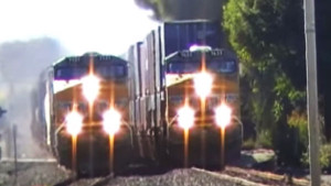 Union Pacific Freight Race is On