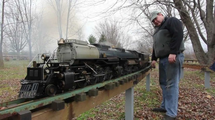 Most Reliable Truck Ever >> Big Boy's Little Cousin ...3/4 Inch Replica! - Train Fanatics