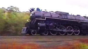 "Chesapeake & Ohio's 614  Pulls 25 Car ""Erie Limited"" !"