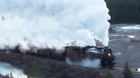 "CP 'Empress' Challenges The ""Big Hill""! | Train Fanatics Videos"