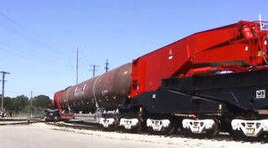 The Iconic Schnabel: Worlds Longest Freight Car!
