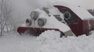 """The """"War Wagon"""" Has Met Its Match Of Ice And Snow"""