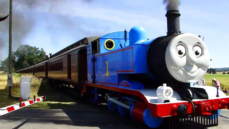 Thomas The Tank Engine Comes Alive! | Train Fanatics Videos