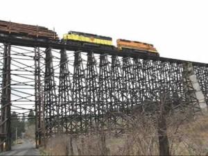 1908 Railroad Trestle Still Gets The Job Done!