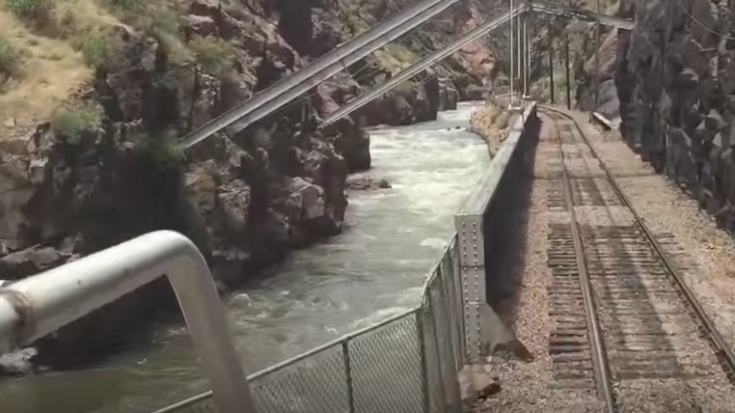 Royal Gorge Route Railroad With Amazing Canyons! | Train Fanatics Videos