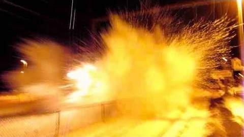 Amtrak Blasts Railfan With Snow | Train Fanatics Videos