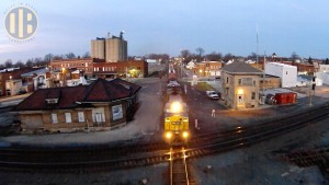 Fantastic CSX Freight Train Footage From A High-Def Drone!
