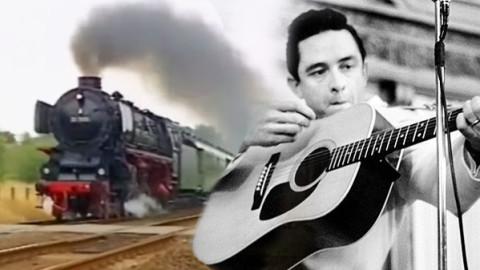 Johnny Cash Sings The Orange Blossom Special Train Fanatics