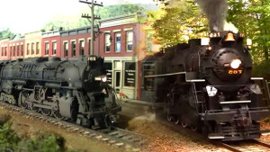 Awesome Side-By-Side Footage Of Nickel Plate Road #765