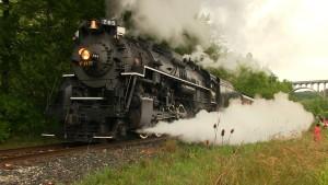 Nickel Plate Road #765 Steams Ahead!