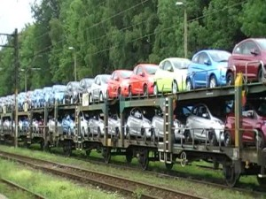"Amazing And Colorful Display Of ""Smart Car"" Freight"