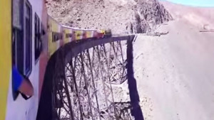 "Argentina's ""Train To The Clouds"" Will Make Your Stomach Drop!"