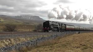 Steam From The BR 70000 Britannia!