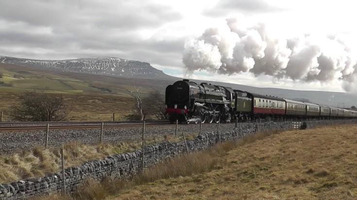 Steam From The BR 70000 Britannia! - Train Fanatics