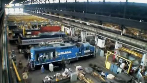 Norfolk Southern S Juniata Locomotive Shop Train Fanatics