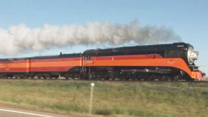 Pacing The Southern Pacific 4449!