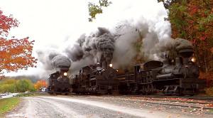Cass Scenic Railroad Amazes In The Fall