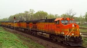 35 SD40-2 Locomotives Go For Repairs
