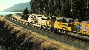 "Union Pacific Railroad's ""I Wish I Were An Eagle"" !"