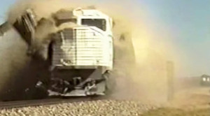 EMD 45-2 Locomotives Used As Crash Test Dummys!