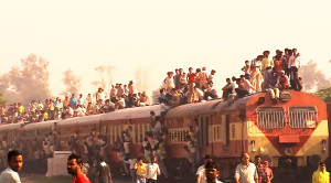 PACKED: Indian Train Overcrowding