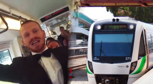 Commuter Train Dance Party in Perth!