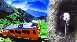 Breathtaking Pilatus Cogwheel Train In Switzerland