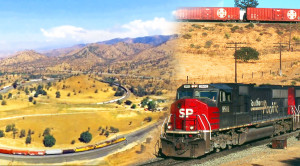 Sped Up Freight Conquers Tehachapi Loop
