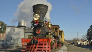 The York #17 Locomotive Steams Into History!