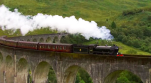 "LMS Stanier Class 5 Hauls ""Jacobite"" Steam Train!"