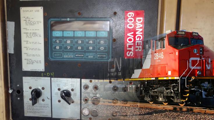 Union Pacific GE Dash 8 Start UP!   Train Fanatics Videos