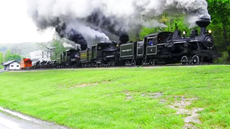 Train Whistle Competition On The Cass Scenic Railroad! | Train Fanatics Videos
