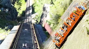 Sensational Ride Along Europe's Steepest Railway!