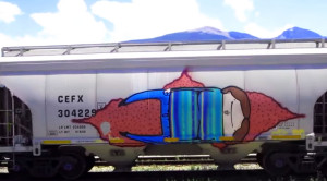 Freight Train Graffiti: Art Or Not?