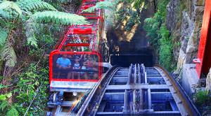 Traversing The Worlds Steepest Railway: Katoomba Scenic World!