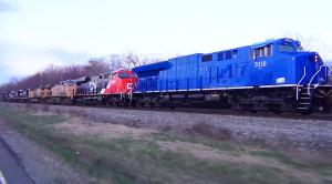Epic 8 Train Diesel Lash-up!