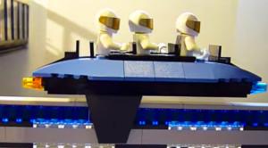 Astounding Lego Maglev Train That Actually Levitates!
