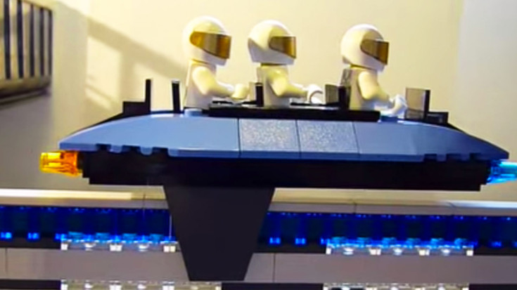 Astounding Lego Maglev Train That Actually Levitates! | Train Fanatics Videos