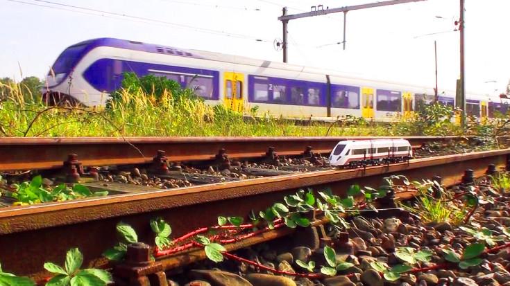 Lego Train Lives The Dream On A Real Railway!   Train Fanatics Videos