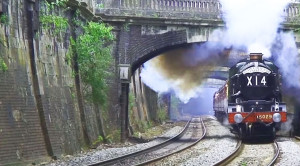 Royal Steamer 'Nunney Castle' Stuns Railfans!